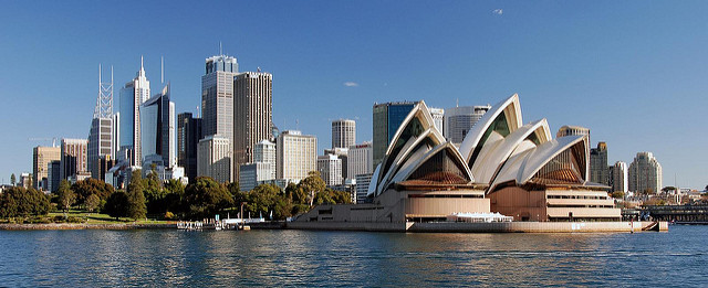 Australia, Photo by Michael McDonough, via Flickr