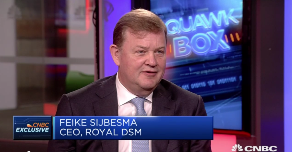 DSM CEO Feike Sijbesma, CPLC co-chair, talks on CNBC about putting a  # PriceOnCarbon  . Watch it here:  http://fal.cn/t4zy