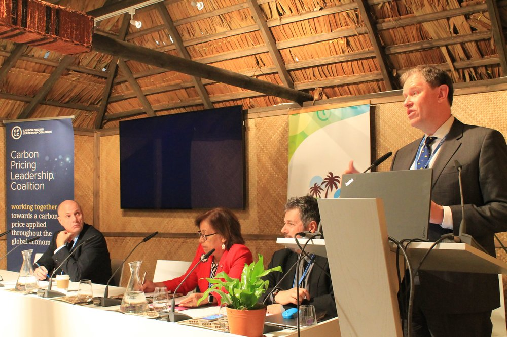 Figure       SEQ Figure \* ARABIC    1      : From the left: John Kornerup-Bang (Maersk), Hilda Heine (Marshall Islands), Nicolas Udrea (France) and Franz Drees-Gross (World Bank) speaking on shipping's climate agenda at COP23 in Bonn on November 16, 2017.