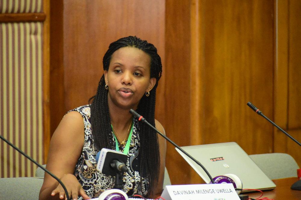 Davinah Milenge-Uwella, African Development Bank