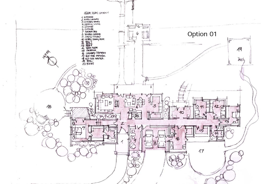 Country house plan1