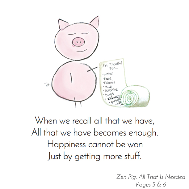 Zen Pig is Grateful List