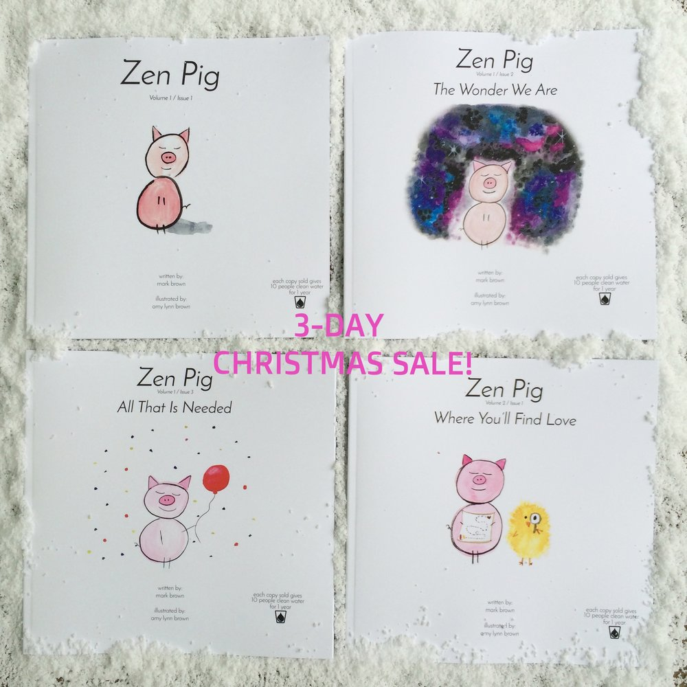 Zen Pig Children's Books for Christmas