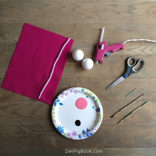 Zen Pig holiday kid craft supplies