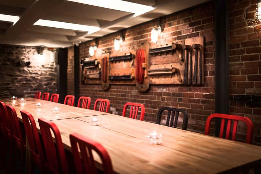 Fauna Ottawa Restaurant Food Bar Centretown Bank Street Impressive Private Dining Rooms Toronto Decor