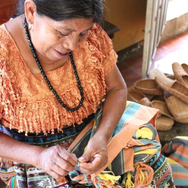 Juana in San Juan La Laguna, Guatemala