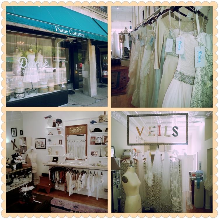 dame couture bridal shop