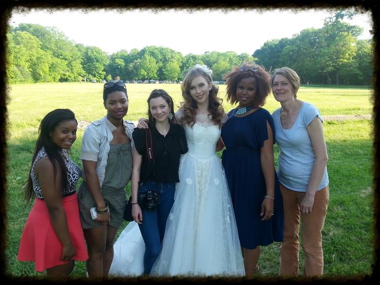 wedding photoshoot team