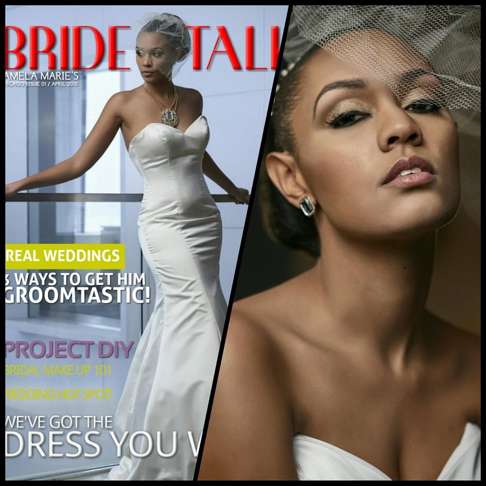 african american bride wedding makeup chicago