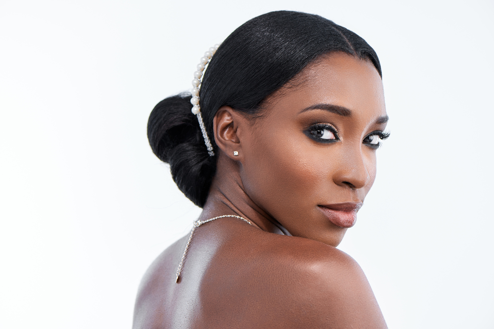 black bride - wedding makeup artist in chicago