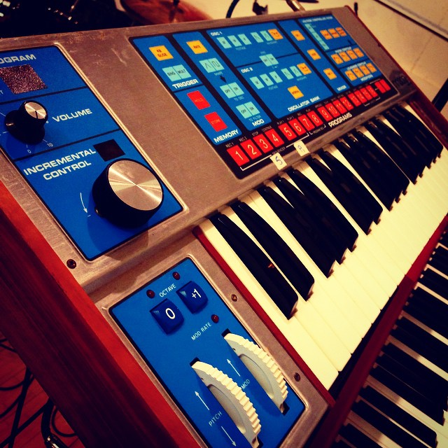 A new visitor in the CFG studio. The real OG. Or #moog as it were.