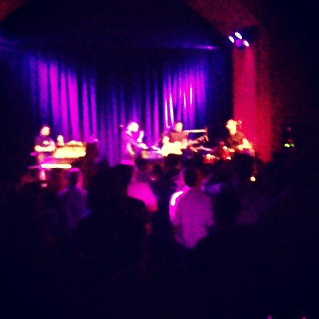 @bellx1 rawkin the @thechapelsf brining it from across the pond #soundbarrier