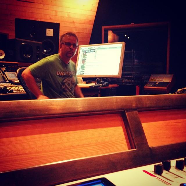 Back home @25thStreetRec finishing up the album with @advancedhuman #oaklandmusic