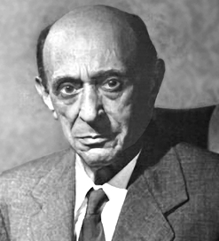 Arnold Schoenberg is one of the many composers that fled Europe and landed in Hollywood. His famous Transfigured Night is featured on the Saturday night concert.