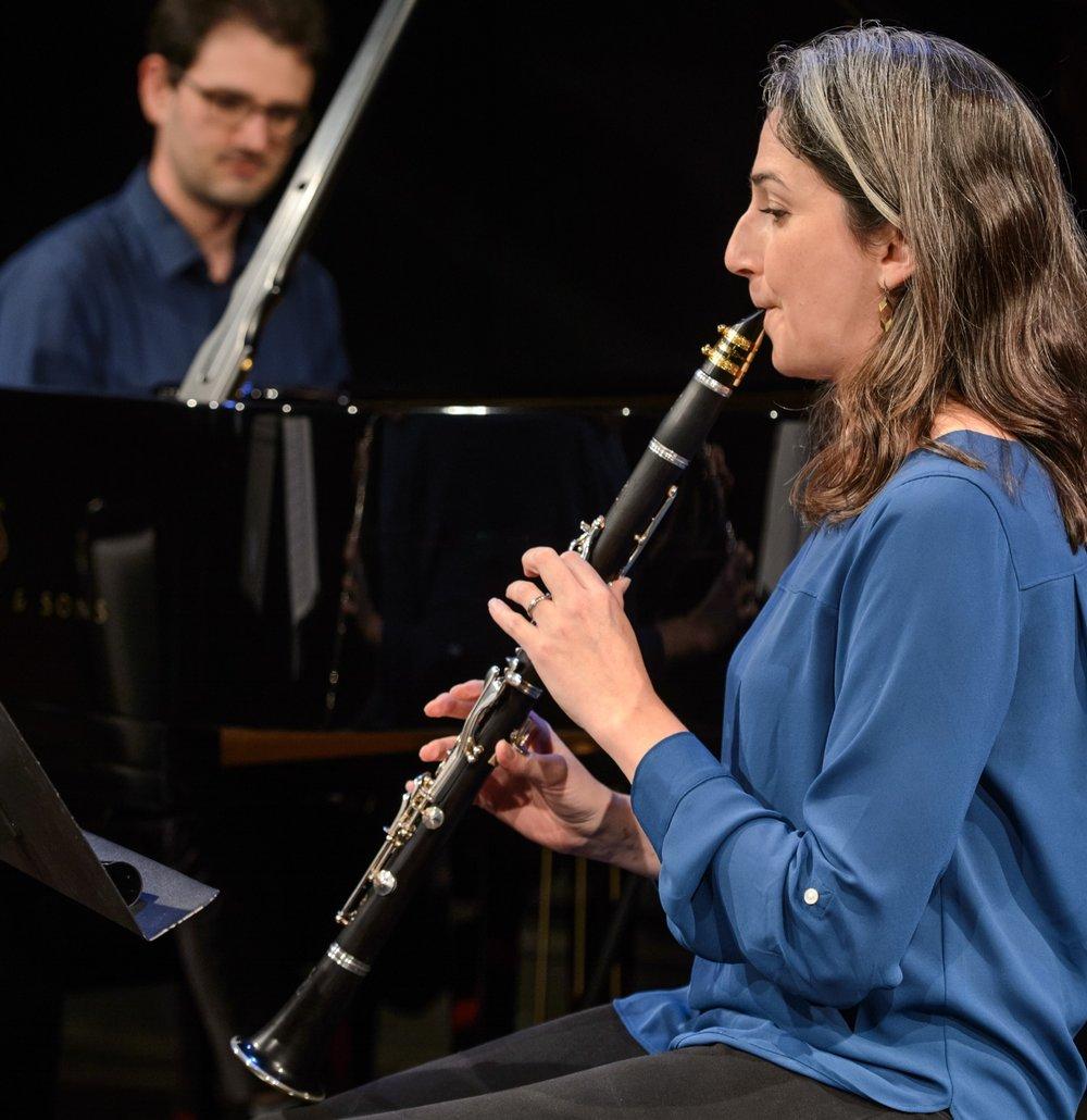 Dana Hotle, clarinet