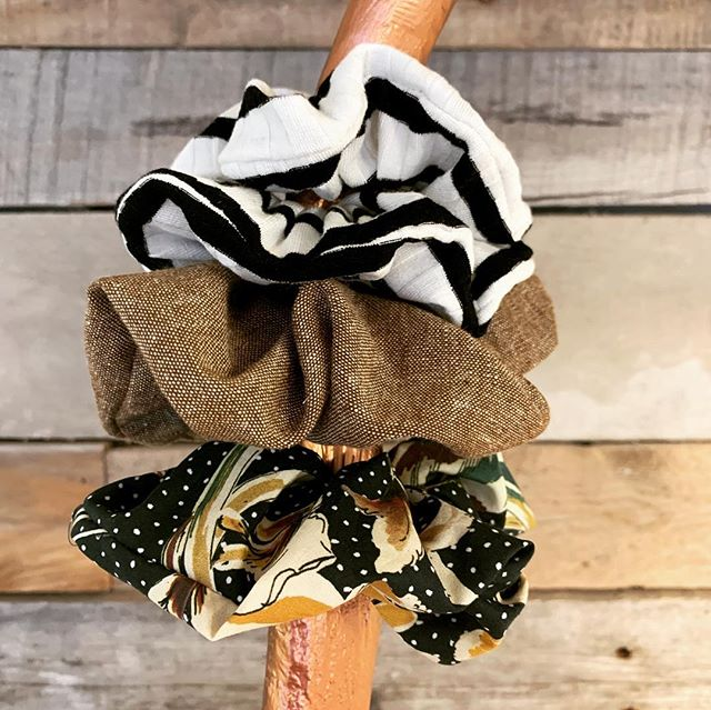 You guys! I can't believe I'm saying this... we now have scrunchies for sale at Salon 83, and I kind of like them 😍 Come check them out, more colors coming soon!  #salon83 #beautiful #scrunchies #theantlersmademedoit #canmorehairsalon #canmorehairstylist #canmorehair #canmore #scrunchiesareback #howdidthishappen #potd