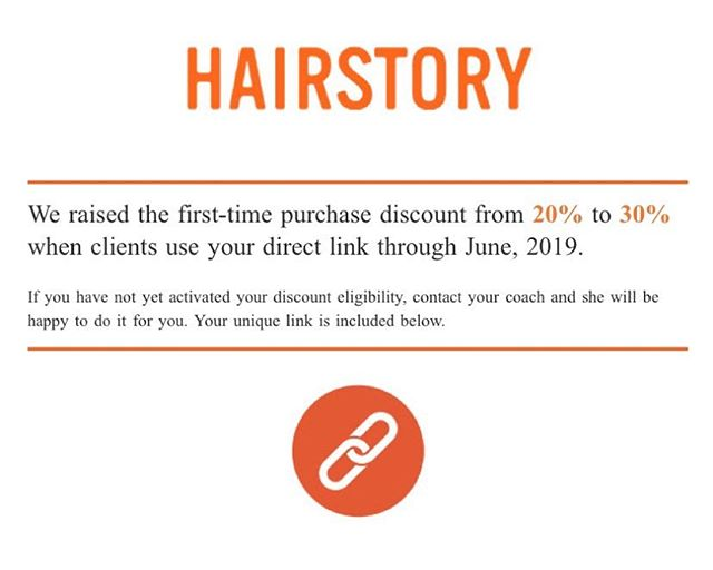 We love @hairstorystudio so much, and now we love them even more! New orders now get 30% off instead of 20% just follow the link in our bio, located under the stylists contact infos! Or you can copy and use this one:  http://hairstory.com/?r=300070802 #canmorehairstylist #canmorehairsalon #canmorehair #canmore #salon83 #hairstory #welovenewwash #goodhair #detergentfree