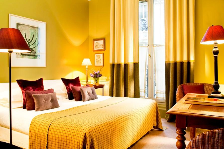 FRANCE-Paris-Hotel Sainte Beuve-Yellow room.jpg