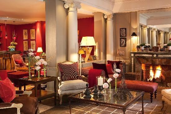 FRANCE-Paris- hotel-sainte-beuve lobby.jpg