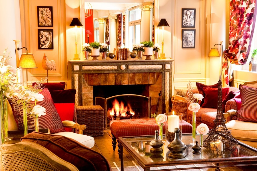 FRANCE-Paris-Hotel Sainte Beuve Lobby.jpg