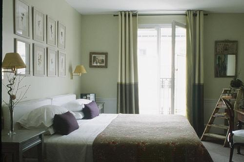 FRANCE-Paris-Hotel Sainte Beuve-Green ROom.jpg