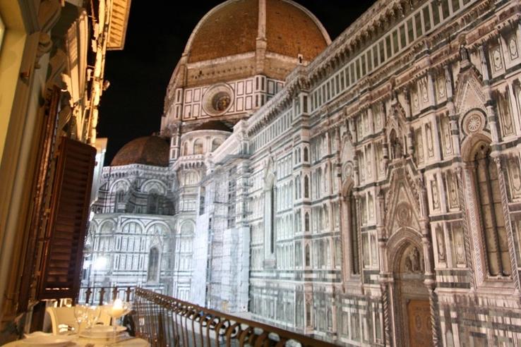 ITALY-Florence-Gran Duomo Apts - balcony with view of Gran Duomo.jpg