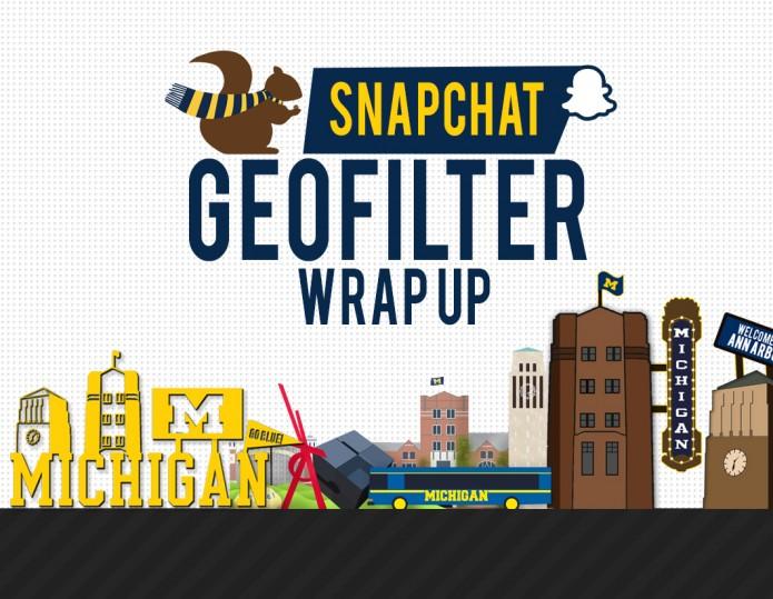 Alexandra Fotis UMSocial Snapchat Geofilters