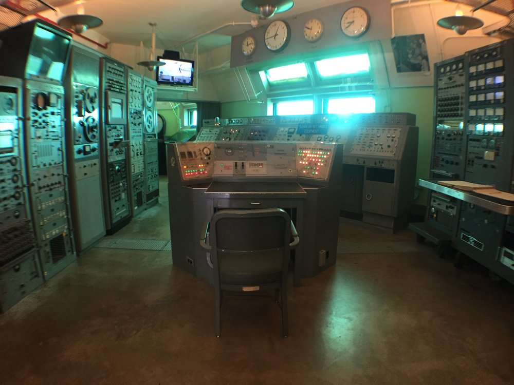 Launch Complex 5/6 - The control room that launched Alan Shepard into orbit.