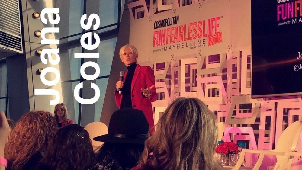 Joanna Coles, Editor in Chief of Cosmopolitan