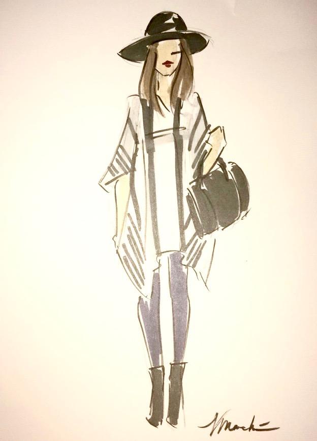 A sketch of me