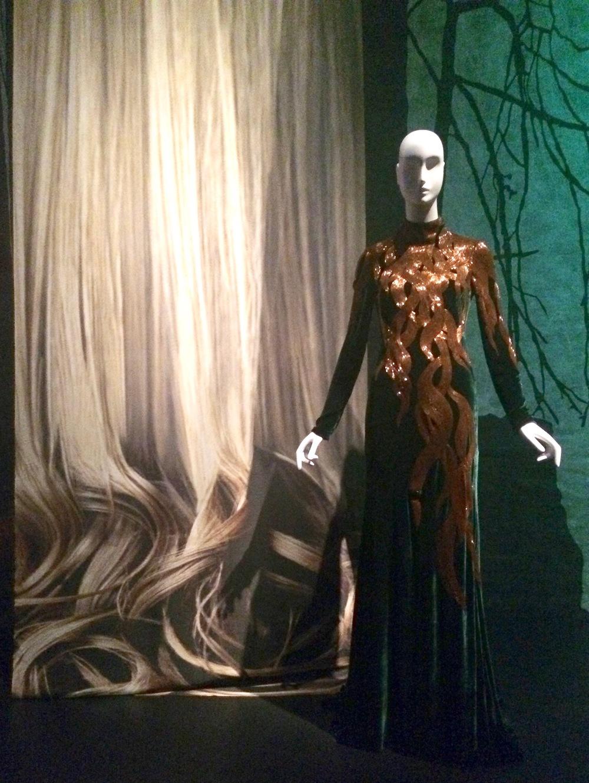 Alexander McQueen Evening Gown, Fall 2007