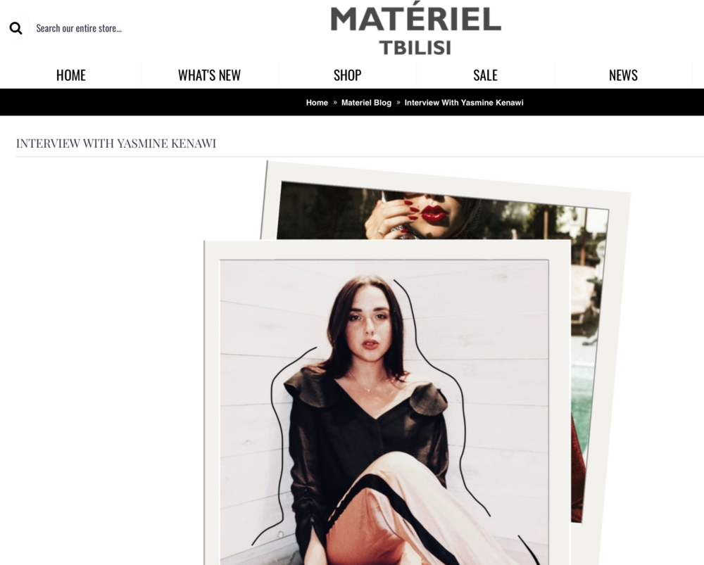 MATERIEL TBILISI Interview   Click  here  for full interview.