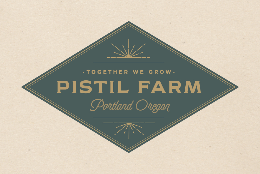 Branding Design For Pistil Farms