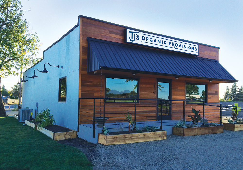 Environmental Design for Tj's Organic Provisions