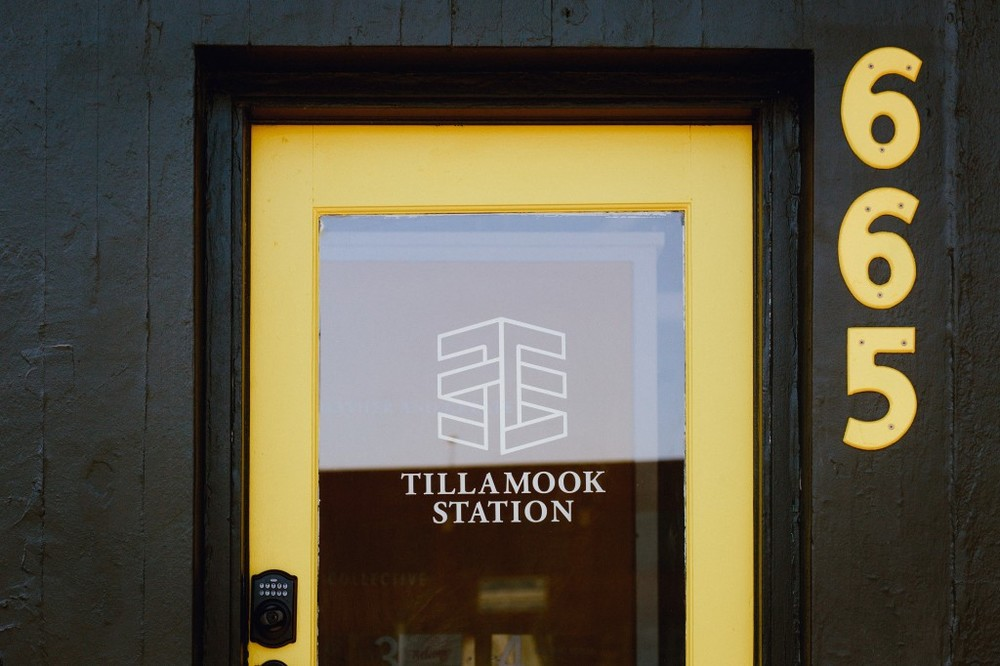Tillamook Station Door