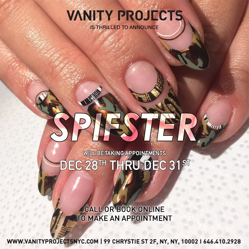 Artist in Residence — VANITY PROJECTS