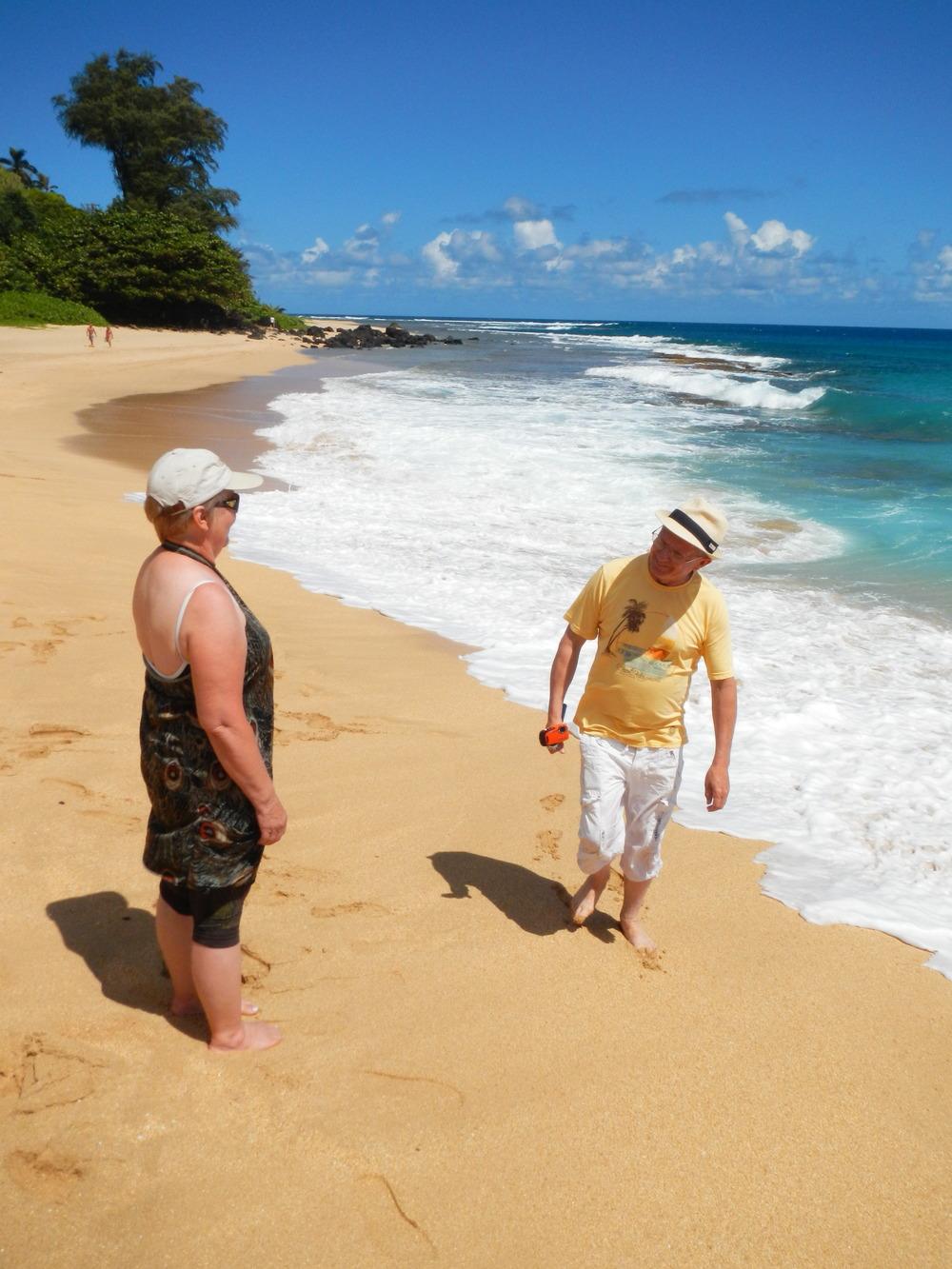 North Kauai Beach, M&D