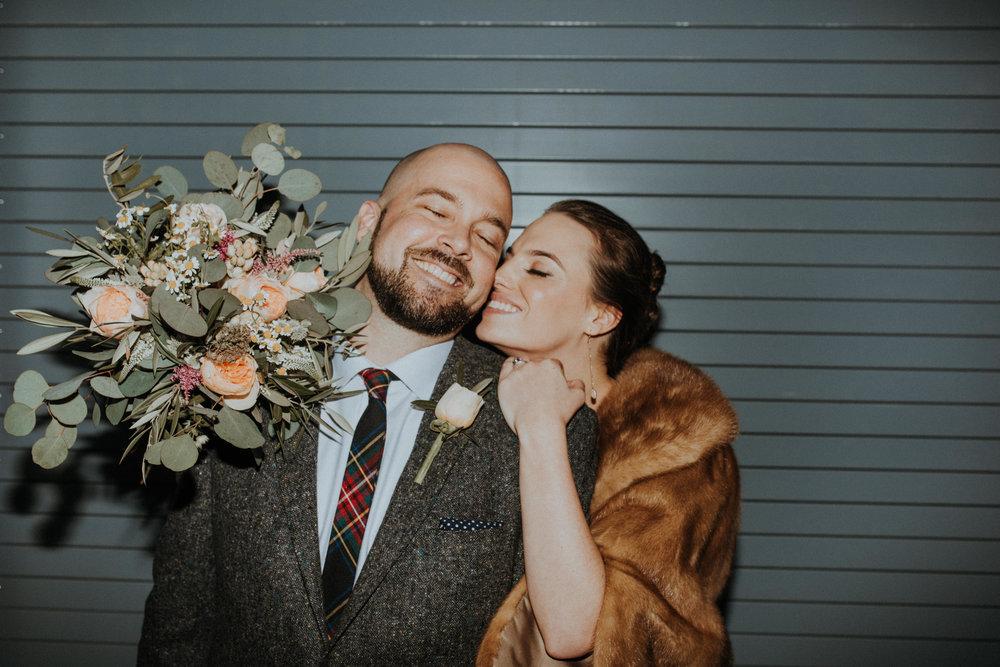 Katie + John - Modern Artistic Wedding in Downtown Des Moines
