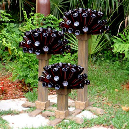 Hmmm... a garden made out of beer? Or beer made out of the garden!