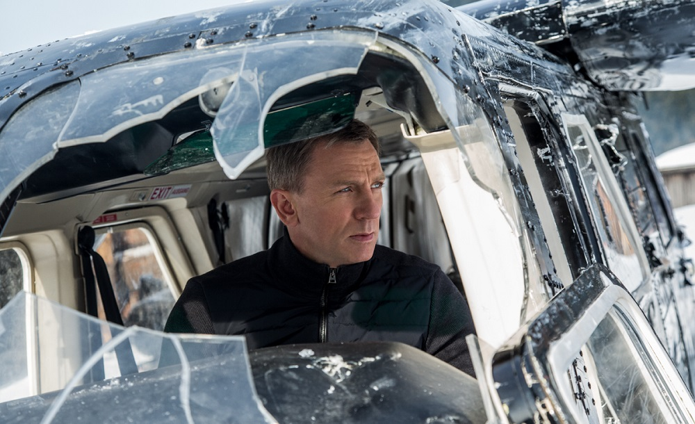 Daniel Craig returns as 007 in a solid spy/espionage thriller. (B24 / Columbia Pictures)