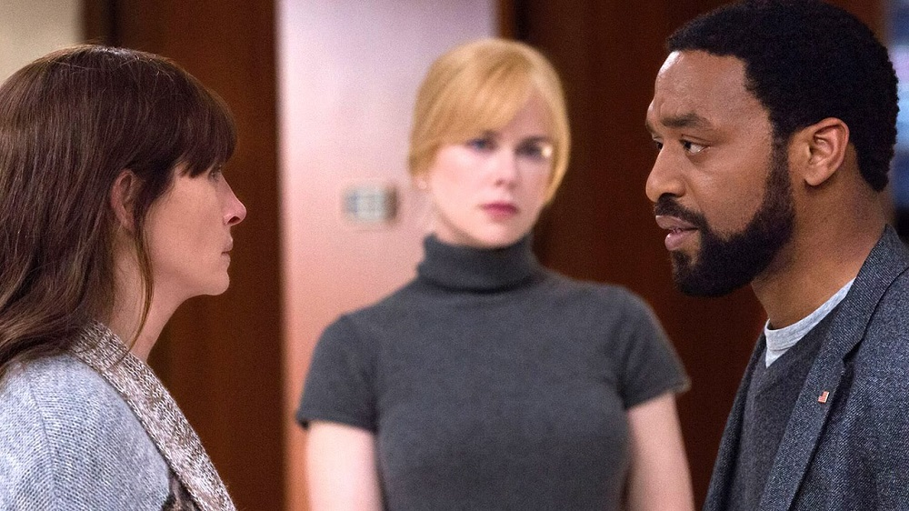 Secret in Their Eyes  provides a trio of good performances from Chiwetel Ejiofor, Nicole Kidman, and Julia Roberts. (STX Entertainment)