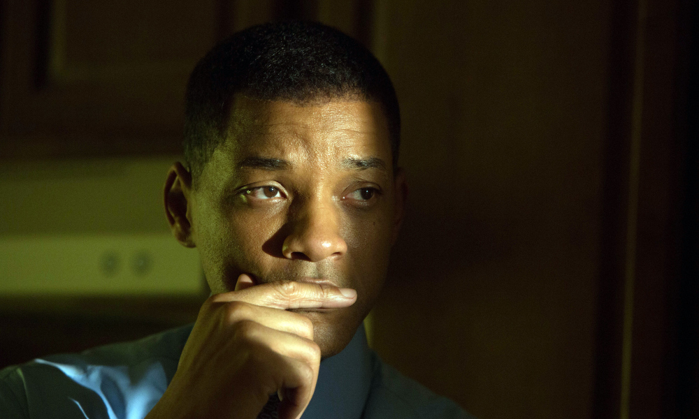Will Smith's performance as Dr. Bennet Omalu ranks among his best. (Sony / Columbia Pictures)