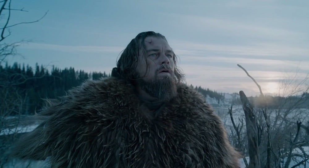Leonardo DiCaprio's Hugh Glass is so tattered, frostbitten and bloody that  The Revenant,  at times, becomes a difficult movie to stomach. (20th Century Fox)