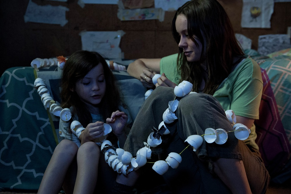 Five year-old Jack (Jacob Tremblay) is our narrator, and Ma (Brie Larson) is his eternally devoted caretaker in Room.(A24)