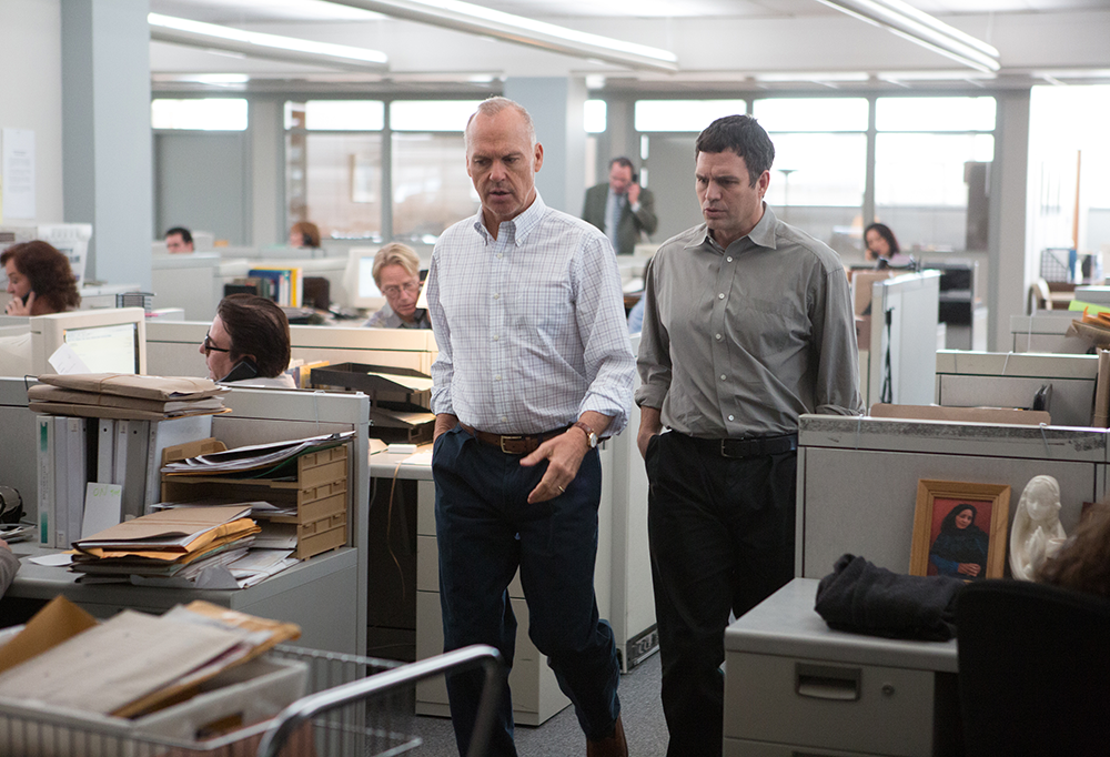 There's no shortage of excellence in Tom McCarthy's  Spotlight,  which features a bravura cast set in a gripping story.