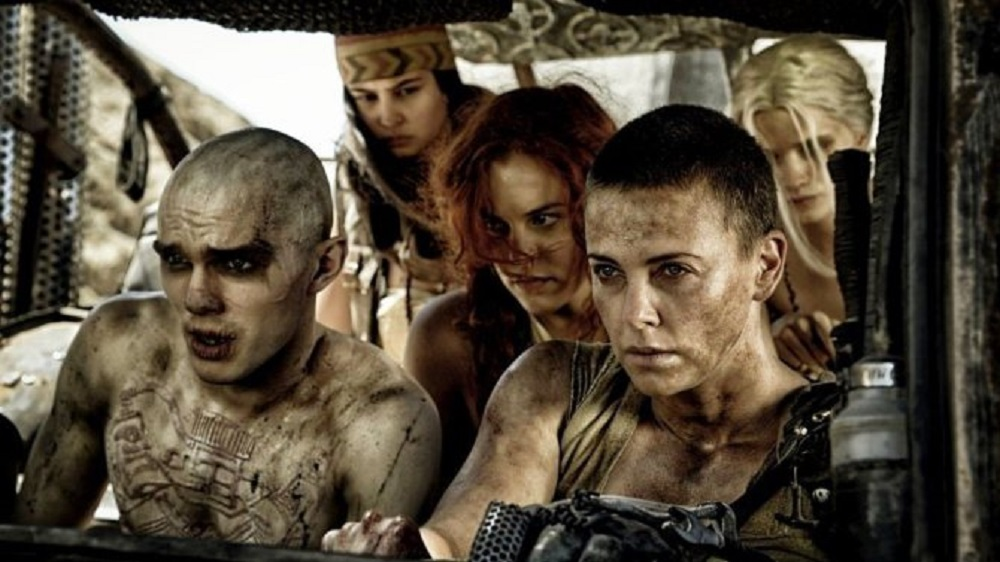 It's awfully cathartic to see an action movie like Fury Road make such a strong statement at the Academy Awards. (Warner Bros.)