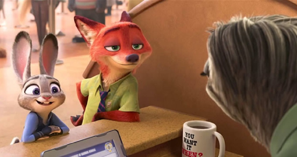 Kids will love the furry animals and funny jokes of  Zootopia,  while adults can chew on pop culture references, intriguing characters, and a relevant message. (Walt Disney Studios)