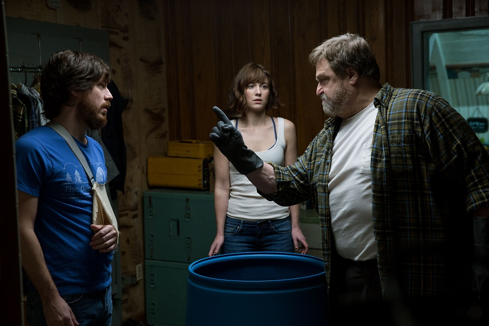 Tensions are high and suspense wears heavy in  10 Cloverfield Lane , one thriller of a movie. (Paramount Pictures / Bad Robot)