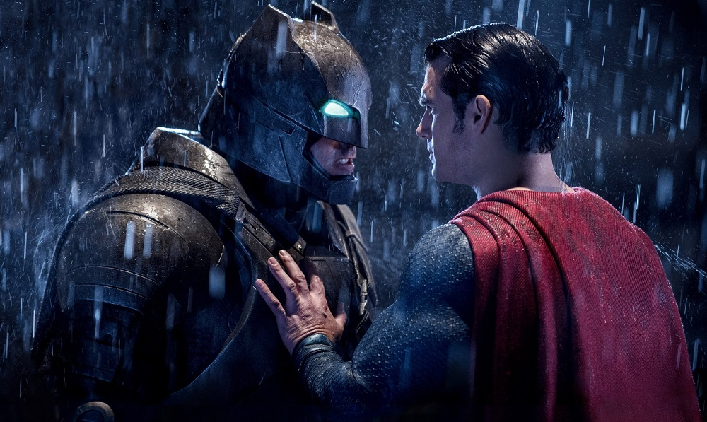 Batman and Superman finally square off, although the final product leaves a lot to be desired. (Warner Bros.)