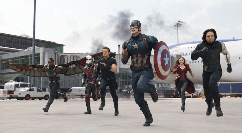 Captain America: Civil War  doesn't need to be perfect to be thrilling.(Marvel Studios)